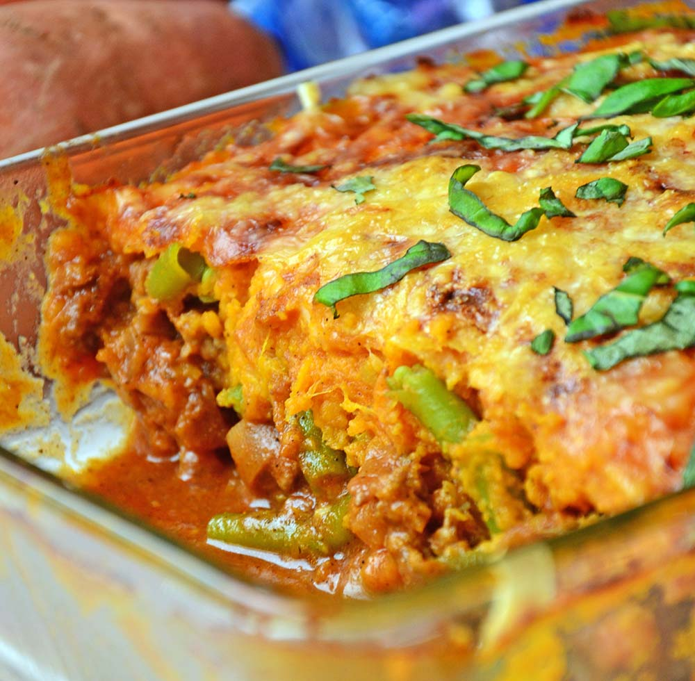 sweet potato shepard's pie
