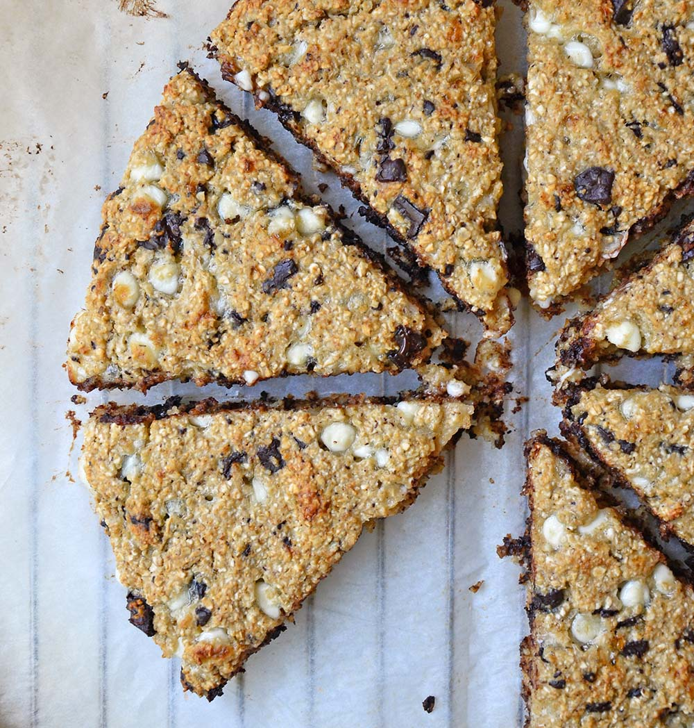Healthy chocolate chip scones
