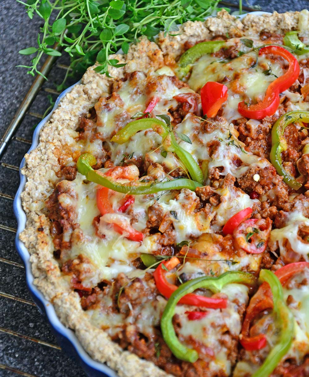 ground beef pie