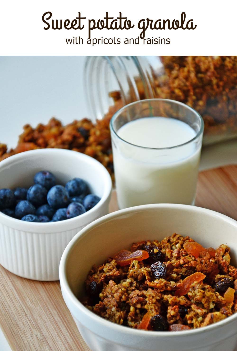 sweet potato buckwheat granola